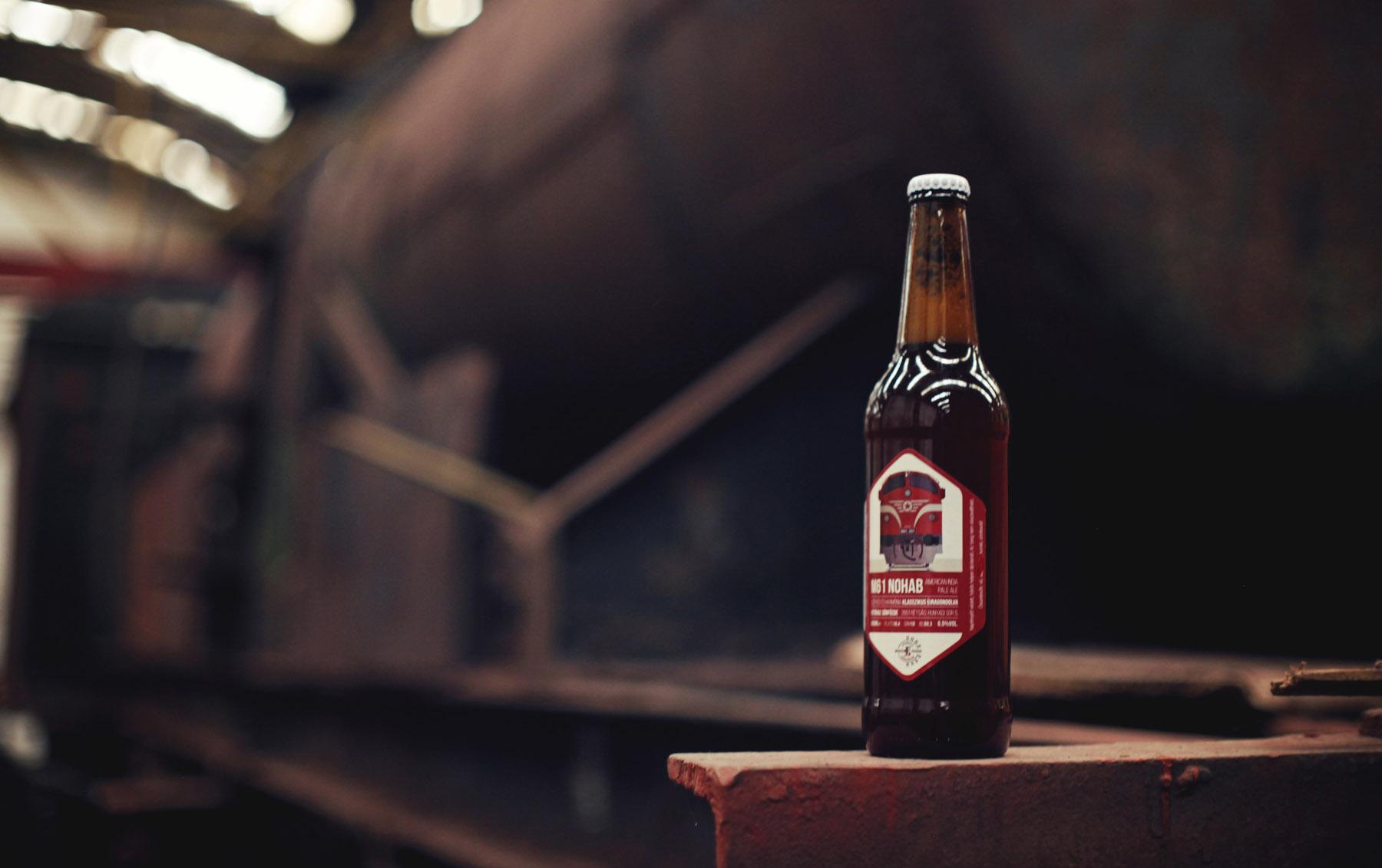 """""""Ahol a Nohabot főzik"""" – sör és mozdonyok találkozása"""